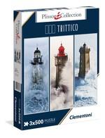 Clementoni-Deniz Feneri  3X500 Parça Puzzle 39375