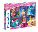 Clementoni-Disney Prenses 3D 104 Puzzle  20609