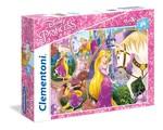 Clementoni-Disney Prenses 24 Parça Puzzle 23702