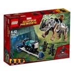 Lego-Super Heroes Black Panter Face-Off