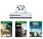 XBOX ONE S 1 TB & Assassin's Creed: Origins, Rainbow Six Siege, Steep Oyunları Dahil