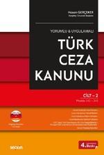 Türk Ceza Kanunu-2 Cilt Takım