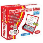 DiyToy-Manyetik Tablet Alfabe Seti