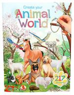 Topmodel Animal World Boyama Kitabı 5353