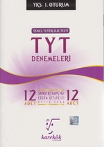 YKS-TYT 12'li Deneme 1.Oturum