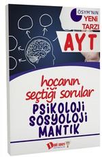 AYT Psikoloji Sosyoloji Mantık Soru