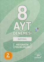 AYT 8'li Deneme Sayısal Matematik-F