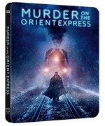 Murder On The Orient Express - Doğu Ekspresinde Cinayet (Steelbook Blu-ray)