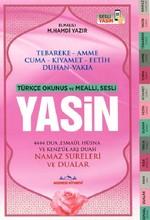Yasin-Türkçe Okunuşlu ve Mealli,Sesli-Orta Boy