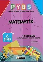 6.Sınıf PYBS Matematik 10 Deneme