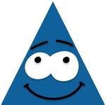 Neşeli Mavi Üçgen