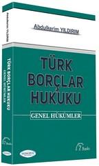 Türk Borçlar Hukuku-Genel Hükümler