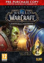 PC WORLD OF WARCRAFT BATTLE FOR AZE, Pc