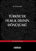 Türkiye'de Hukuk Dilinin Dönüşümü