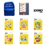 LOGİKO-Mini Akıllı Düğmeler 4-6 Yaş Konsantrasyon
