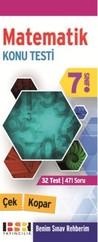 7. Sınıf Matematik Çek Kopar Konu Testi