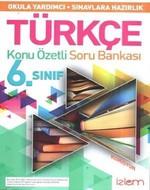 6. Sınıf Türkçe Konu Özetli Soru Bankası