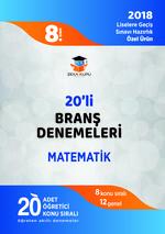 8.Sınıf LGS Matematik 20'li Branş Denemeleri
