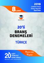 8.Sınıf LGS Türkçe 20'li Branş Denemeleri