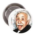 Albert Einstein Rozet - Aylak Adam Hobi