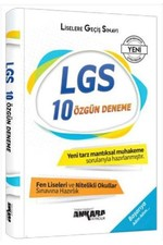 8.Sınıf LGS 10 Özgün Deneme