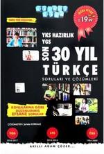 YKS Hazırlık Son 30 Yıl Türkçe Soruları ve Çözümleri