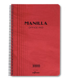Lecolor Manila Notebook Çizgili Spiralli Defter