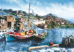 Keskin Color Puzzle 2000 Balıkçı Teknesi 70x100