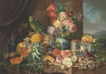 Keskin Color Puzzle 2000 Çiçekler & Papağan 70x100