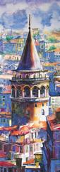 Keskin Color Puzzle 1000 Pan.Galata Kulesi 34x96