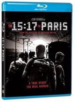 15:17 To Paris - 15:17 Paris Treni (Blu-ray)