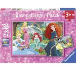 Ravensburger - Prenseslerin Dünyası 2x12 Parça Puzzle 76208