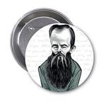 Aylak Adam Hobi-Fyodor Dostoyevski Karikatür Rozet