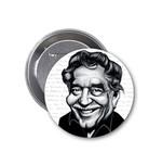 Aylak Adam Hobi-Gabriel García Márquez Karikatür Rozet
