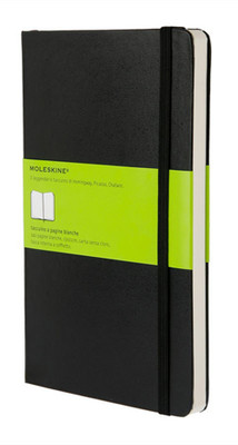 Moleskine Large Plain Hard Cover Notebook - Düz Siyah Defter