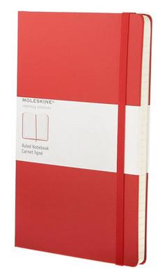 Moleskine Large Ruled Notebook Kirmizi (Çizgili) Hardcover