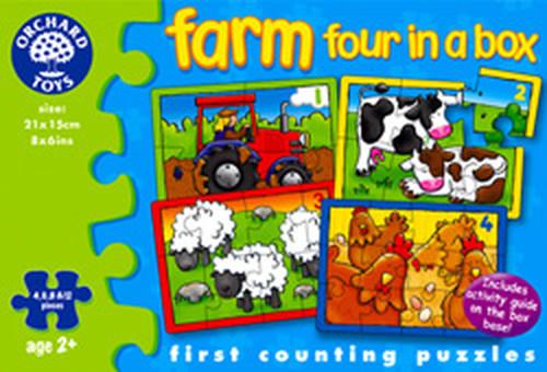 Orchard - Çiftlik (4 Puzzle Bir arada)