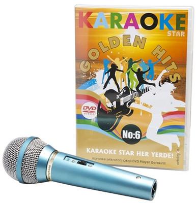 Karaoke Star 6 Golden Hits-DVD (Mikrofon Hediyeli)