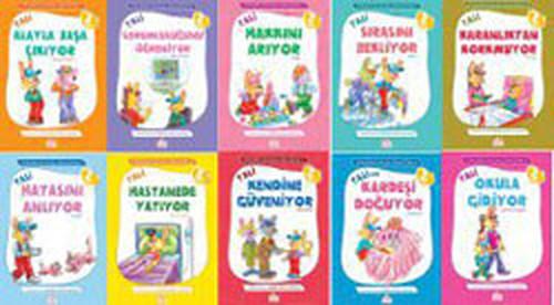 Öykülerle Duygusal Zeka Eğitimi Seti 3-7 Yaş (10 Kitap Takım)