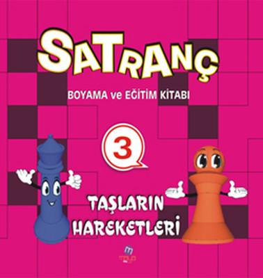 Satranç Boyama Kitabı 3