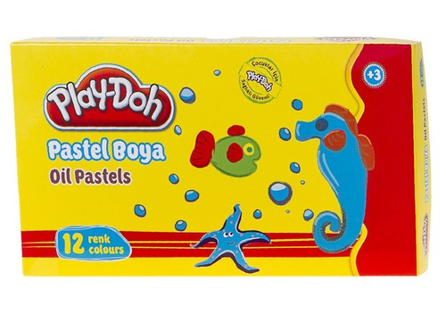 Play-Doh 12 Renk Pastel Boya PLAY-PA002