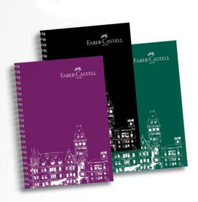 Faber-Castell PP Kapak Koyu Renkler, Kareli Defter, 120 Yaprak5075400123