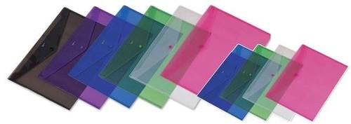 Comix A4 Çıtçıtlı Şeffaf Dosya A1853