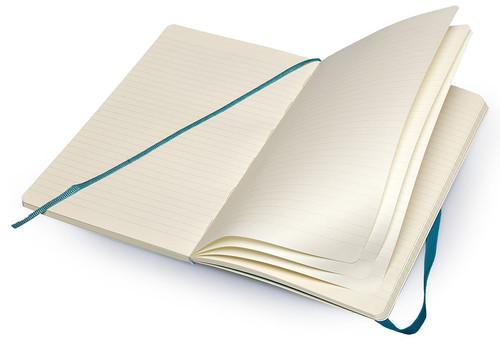 Moleskine Ruled Blue Notebook - Çizgili Mavi Defter