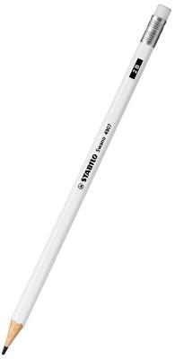 Stabilo Beyaz Silgili Kurşun Kalem 4907/2B-52 51008985