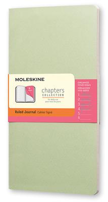 Moleskine Chapters Journal Slim Medium - Çizgili Yeşil Günlük