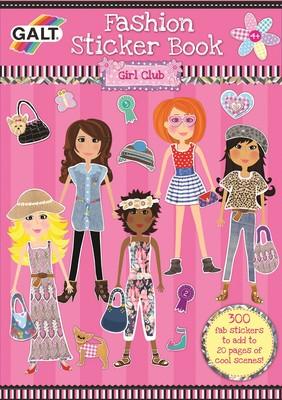 Galt Fashion Sticker Book 1004027