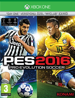 PES 2016 XBOX ONE