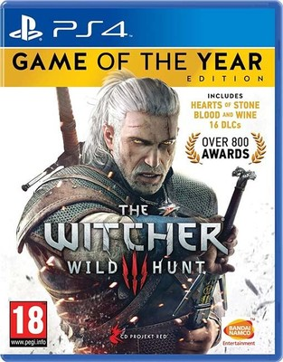 The Witcher 3: Wild Hunt - GOTY PS4