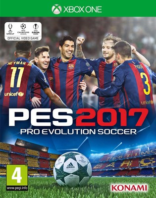 PES 2017 XBOX1